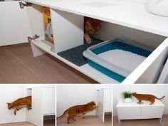 Modern Multifunctional Cat Litter Box Furniture IKEA ~ http://lanewstalk.com/the-stylish-cat-litter-box-furniture-ikea/