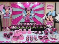 36 Ideas De Decoracion Para Cumpleaños De Minnie - YouTube