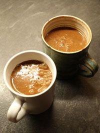 There's nothing quite like a nice mug of hot chocolate on a cold evening and we think you'll find making your own is so much better than buying it. For this recipe, we used our own home made o