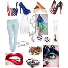 Olympics USA outfit