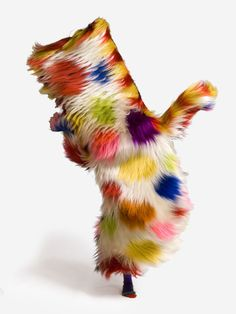 Nick Cave Sound Suit, an artistic exploration of sound, art, fashion, movement and culture by Harpers Bazaar - via trendland