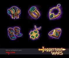 Items / stuff for Action RPG MOBA game Juggernaut Wars - https://jw.my.com/