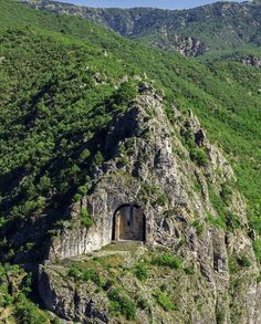"""""""Hidden away inside a mountainous outcropping of northern Turkey is an ancient structure known as the """"Tomb of Kapilikaya. Ancient Mysteries, Ancient Ruins, Places To Travel, Places To See, Interesting Buildings, Ancient Architecture, Abandoned Places, Beautiful Places, Scenery"""