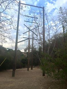 TSC High Ropes Course! Great for any event.  #teambuilding  #youcandoit!