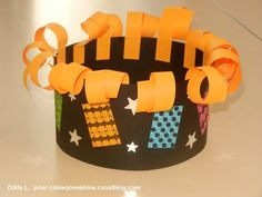 L'épi d' Fanny - Les cahiers de Joséphine New Year's Crafts, Crafts For Kids, Arts And Crafts, Diy Crafts, Paper Crowns, Cool Hats, Kids Hats, Baby Cards, Diy Paper