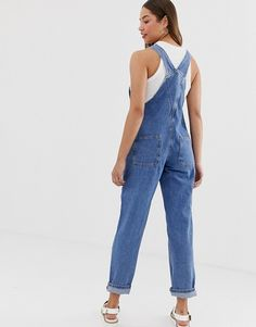 Find the best selection of Noisy May Mom Overall. Shop today with free delivery and returns (Ts&Cs apply) with ASOS! Overalls, Asos, Style, Fashion, Swag, Moda, Stylus, Fashion Styles, Fashion Illustrations