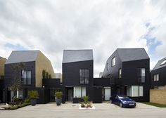South Chase housing in Essex, UK, by Alison Brooks Architects #architetcture #house #contemporary