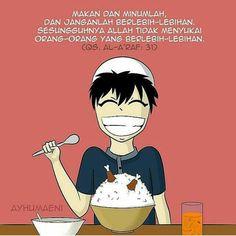 Buka dan sahur puasa janganlah berlebihan Colouring, Coloring Pages, Ramadhan Quotes, Dan, Islam, Memes, Sweet, Cute, Anime