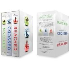 Matched trilogy box set. Super good! If you loved The Hunger Games a must read