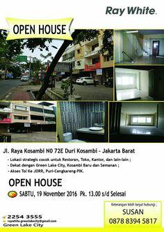Open House !! #Openhouse #raywhite #raywhiteindonesia #raywhitegreenlakecity #property #dijual #dijualruko #forsale