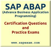 C_TAW12_731 is ABAP certification exam based on SAP NetWeaver 7.31. Sapexam.com is best suitable option to pass your exam with very good score. http://www.sapexam.com/sap-nw-certification/sap-advanced-business-application-programming-abap