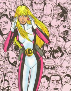 Saturn Girl by Chris Sprouse