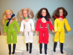 Charlie`s Angles Dolls..had these too..lol. I loved my Barbie`s.