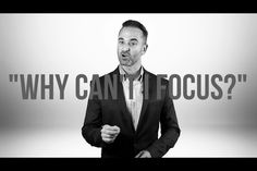 'Why Can't I Focus?' Here's What the Science Says.: 'Why Can't I Focus?' Here's What the Science Says. Event Marketing, Online Marketing, How To Find Out, How To Become, Lack Of Focus, English Channel, Experiential Marketing, Brain Training, Instagram Influencer