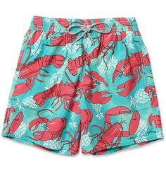 8ea154c7dd Vilebrequin Moorea Mid-Length Lobster-Print Swim Shorts