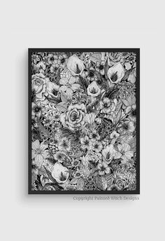 Floral Beauties 3 @lilieslondon by Danielle McQuade on Etsy