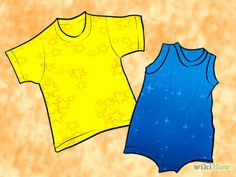 Make a Baby Romper from a T Shirt Step 1.jpg