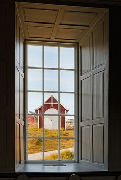 View from inside Nuuk Cathedral, Nuuk, Greenland