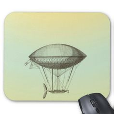 Make your desk your unique space with a new Yellow mouse pad from Zazzle! Flying Boat, Mousepad, Yellow, Illustration, Kids, Vintage, Design, Young Children, Boys