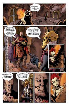 """Pagina 1 de """"El Dios fugitivo"""" Acto II"""