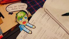 Jacksepticeye Paperchild- Screw Homework! by Arrancar9021.deviantart.com on @DeviantArt