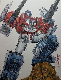 Power Master Optimus Prime by Alex Milne