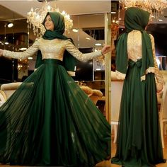 Pinar Şems Meyra Zümrüt Abiye  whatsapp 0553 296 46 99  #pınarşems #meyra #gold #defne #abiye #hijap #hijabi #fashion #zumrut #moda #butik #tesettür #izmir #moda_elif #modaelifcom #fashionhijabs #hijablookbook #hijabers #zumrut #yesil by modaelif_com