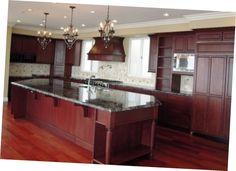 Elegant Cherry Wood Kitchen Cabinets Design Cottage Cherry Wood Kitchen Cabinets Designs