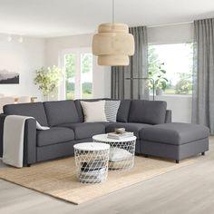 Sofas VIMLE corner sofa bed - no end, Gunnared medium gray - IKEA Germany Your Reference Guid Diy Sofa, Sofa Design, Ikea Vallentuna, Ikea Vimle Sofa, Sofa Back Cushions, Modular Corner Sofa, Large Sofa, Comfortable Sofa, Dining