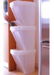 szelektív tároló / recycle bins