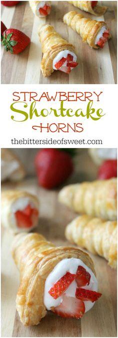 Strawberry Shortcake Horns   The Bitter Side of Sweet