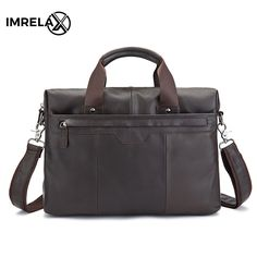man portrait IMRELAX Top Quality Genuine Leather Business Man Bags Cowhide Top Grain Cow Leather Handbags Crossbody Bags * AliExpress Affiliate's buyable pin. Locate the offer on www.aliexpress.com simply by clicking the image