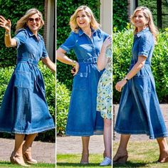 """HM Queen Maxima Of The 🇳🇱 on Instagram: """"• Love you Maxima😍 I really love this style💙 . Photo : Robin Utrecht #queenmáxima #queenmaxima #queenmaximastyle #queenmaxima_same…"""""""