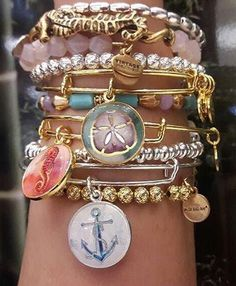 ALEX AND ANI Summer 2016 Collection | Deep Sea | ALEX AND ANI Seahorse Art…
