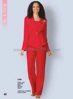 73102f88b57 Women s Lovely Pants Suit by Lily   Taylor