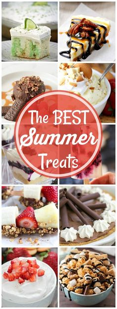 Best Summer Dessert Recipes | Fabulous Summer Sweets and Treats from my favorite bloggers! @lizzydo
