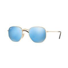 Óculos de Sol Ray Ban Hexagonal RB3548N-001 9O 54 2c44f3f1f9