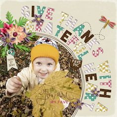 Give Thanks With A Grateful Heart - Scrapbook.com