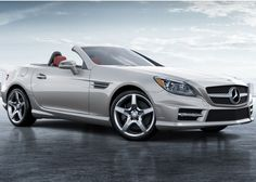 2013 Mercedes SLK350 Sports package in iridium silver.