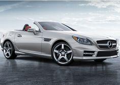 2013 Mercedes SLK350 Sports package in iridium silver.