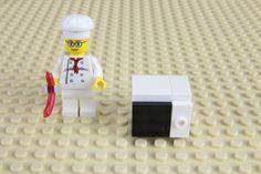 Fabrique un four à micro-onde pour tes minifigures LEGO®