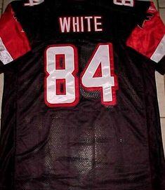 78abaf4d1 Roddy White  84 Atlanta Falcons NFL NFC Reebok Black White Red Jersey 56  New  Reebok  AtlantaFalcons