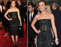 Leighton's 2011 Met Gala look...