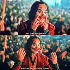 Life Quotes Classic Moives TV Series Joker : Refocus and recharge with these inspirational sayings. Dc Movies, Series Movies, Good Movies, Movie Tv, Tv Series, Joker Full Movie, Joker Film, Joker Poster, Der Joker