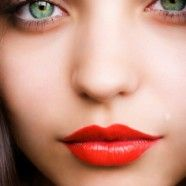 Red Lips - If you have fair skin, look for more coral toned reds and oranges.  For medium skin, true reds, rich oranges, and pink cranberry tints go well with your golden skin.  For dark skin, look for colors that are deep and rich. If they're too light, they could create too much contrast and create a harsh look.