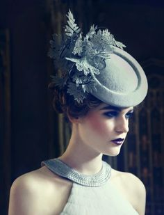 Jane Taylor Millinery, A/W 2013. - perfect. Imaginative yet refined, whimsical yet elegant. Keeping with the quality and excellence of this milliner who rarely disappoints.