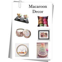 Macaroon decor by elizabeth-b-a on Polyvore featuring polyvore interior interiors interior design home home decor interior decorating Voluspa