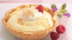 coconut-lemon cream tartlets recipe