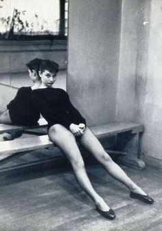 Audrey Hepburn by Ben Ross - 1952