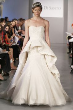 Ines DiSanto's Spring 2014 Wedding Dress Collection (Mermaid, Ball gown, Peplum dress, Asymmetric gown, Empire Waist...)